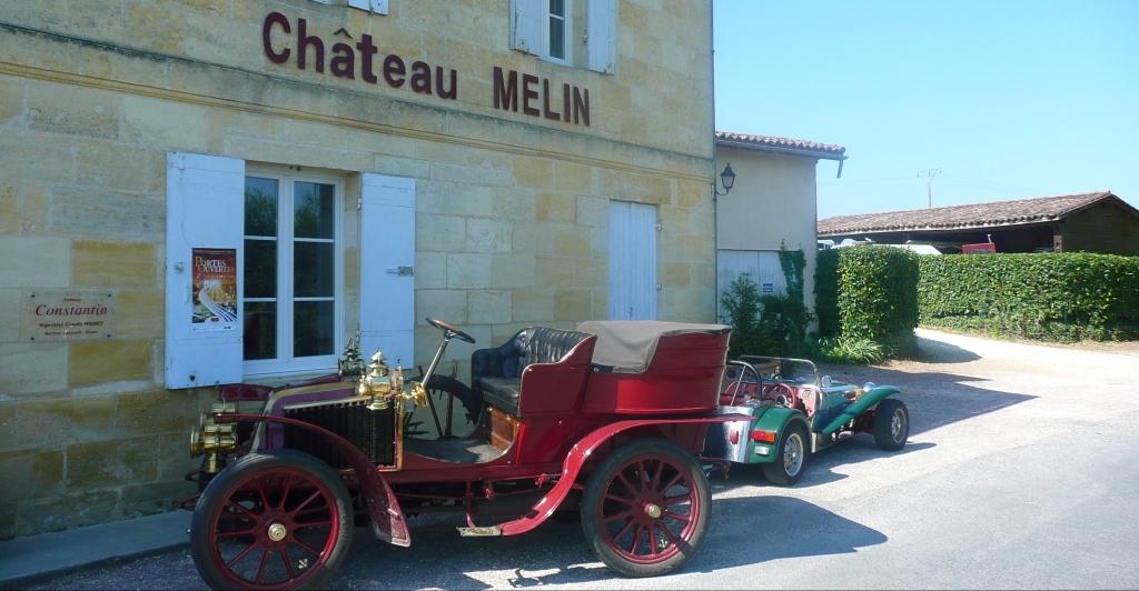 Facade du Château Melin - Constantin